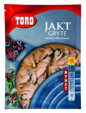 Prøv også Toro jaktgryte tilberedt.
