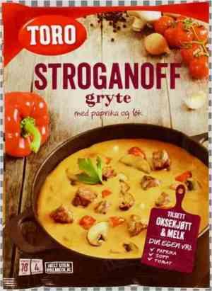 Prøv også Toro stroganoff gryte.