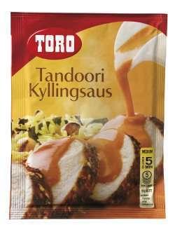 Bilde av Toro tandoori kyllingsaus.
