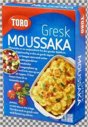 Prøv også Toro Gresk Moussaka.