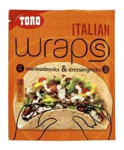 Bilde av Toro wraps italian.