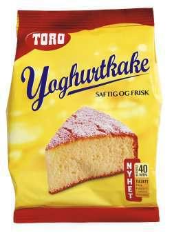 Prøv også Toro yoghurtkake.