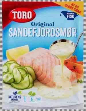 Prøv også Toro sandefjordsmør kremet smørsaus til fisk.