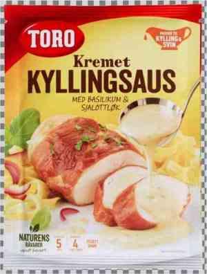 Prøv også Toro kremet kyllingsaus med basilikum og sjalottløk.