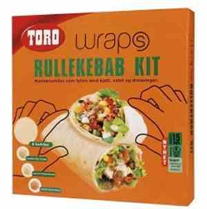 Prøv også Toro wraps rullekebab kit.