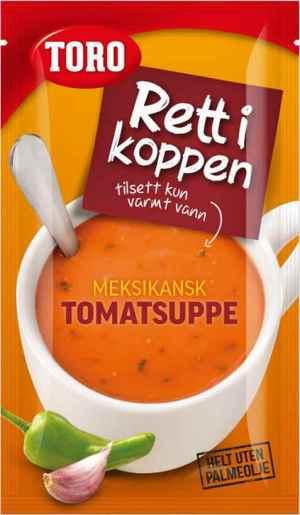 Prøv også Toro Rett i Koppen meksikansk tomatsuppe.