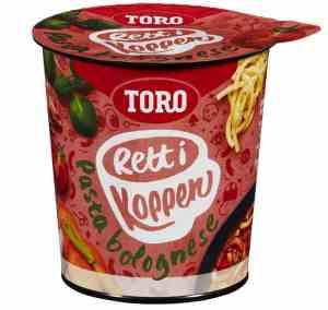 Prøv også Toro Rett i Koppen Pasta Bolognese.