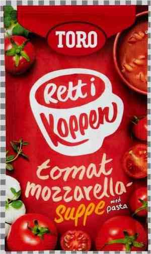 Prøv også Toro Rett i Koppen Tomatsuppe med mozzarella og urter.