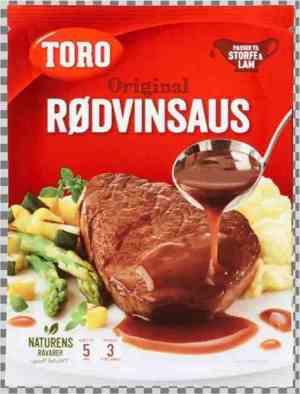 Prøv også Toro rødvinsaus.