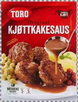 Prøv også Toro kjøttkakesaus tilberedt.