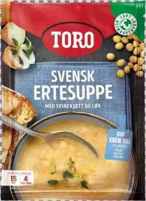 Prøv også Toro svensk ertesuppe.