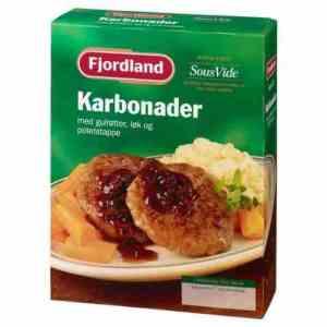 Prøv også Fjordland Karbonader med kålstuing, poteter og tyttebærsyltetøy.