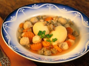 Prøv også Fjordland Sodd med gulrøtter og poteter.