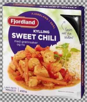Prøv også Fjordland Kylling sweet chili.