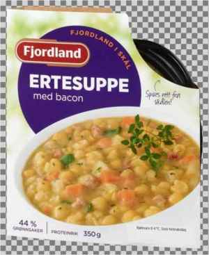 Prøv også Fjordland Ertesuppe med svinekjøtt.