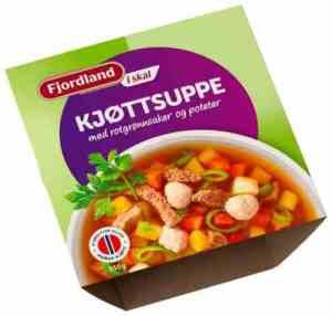 Prøv også Fjordland Kjøttsuppe.