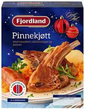 Prøv også Fjordland Pinnekjøtt med vossakorv, kålrotstappe og poteter.