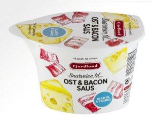 Bilde av Fjordland ost og baconsaus.