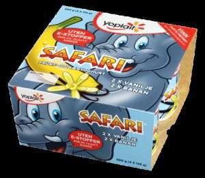 Prøv også Yoplait Safari Elefantyoghurt 4x125g.