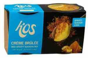 Prøv også KOS Créme Brulèe 138g.