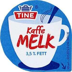 Prøv også Kaffemelk, 3,5 % fett.