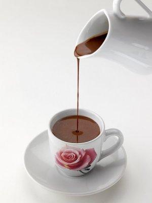 Bilde av Kakao, med lettmelk, tilberedt.