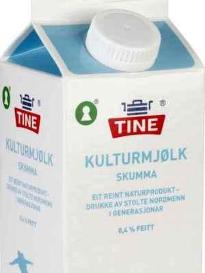Prøv også Tine Skummet kulturmelk.