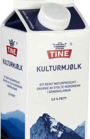 Prøv også Tine Kulturmelk.