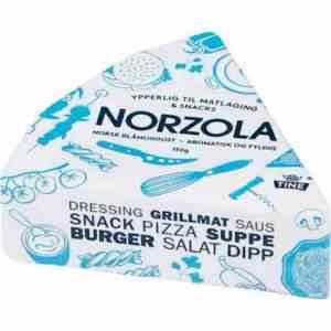 Prøv også Norzola, blåmuggost.