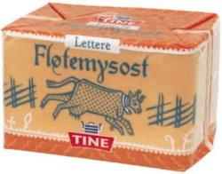 Prøv også Fløtemysost, brunost, lettere.