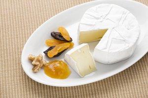 Bilde av Camembert, ost, lettere.