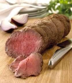 Prøv også Storfe, steik, roastbiff, rosa stekt.