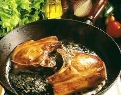 Prøv også Svin, koteletter, kam med fettrand, stekt.