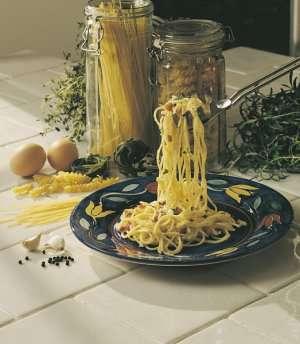 Bilde av Pasta naturell, makaroni/spagetti o.l, kokt.