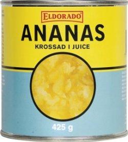 Bilde av Ananas, hermetisk, med egen saft.