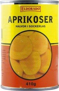 Prøv også Aprikos, hermetisk, med sukkerlake.