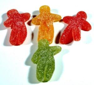 Prøv også Geléfrukter, type Seigmenn.