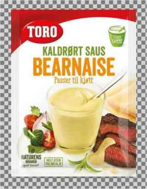 Prøv også Toro kaldrørt bearnaisesaus.