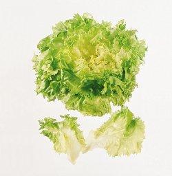 Bilde av Eskaroll salat.