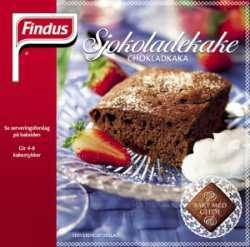 Bilde av Findus Sjokoladekake.