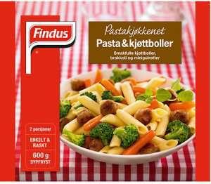 Prøv også Findus Pasta og Kjøttboller.
