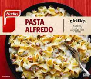 Prøv også Findus Pasta Alfredo.