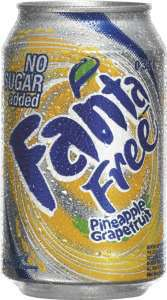 Bilde av Fanta Free Pineapple Grapefruit.