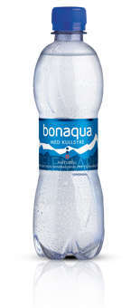 Prøv også Bonaqua naturell med kullsyre.