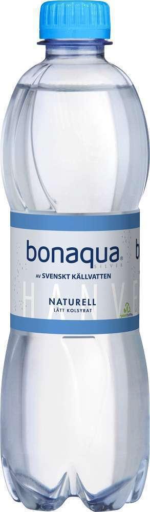 Prøv også Bonaqua Naturell uten kullsyre.