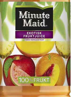 Prøv også Minute Maid Exotisk.