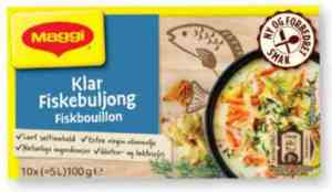 Prøv også Maggi Fiskebuljong.