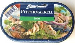 Bilde av Sunnmøre Peppermakrell i olje.
