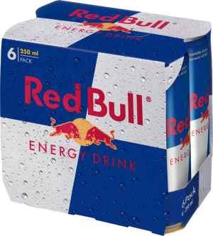 Prøv også Red Bull.