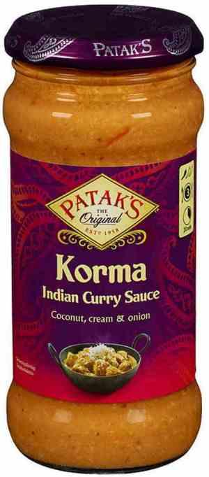 Prøv også Pataks original korma mild.